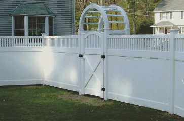 Vinyl fences are a great choice. Vinyl fencing comes in lots of different colors and style options. They can be great privacy fences and add lots of value to any property. Vinyl fences are alo require very low maintenance and can last a very long time on any property.