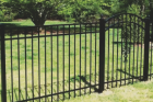 Ornamental fences come in steel and aluminum options and can be a great choice when you're trying to define an area with a beautful fence, such as a pool, front yard for curb appeal, or any other similar application. They also require hardly any maintenance!