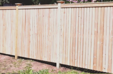 redoing-an-entire-section-of-wood-fence-that-was-damaged